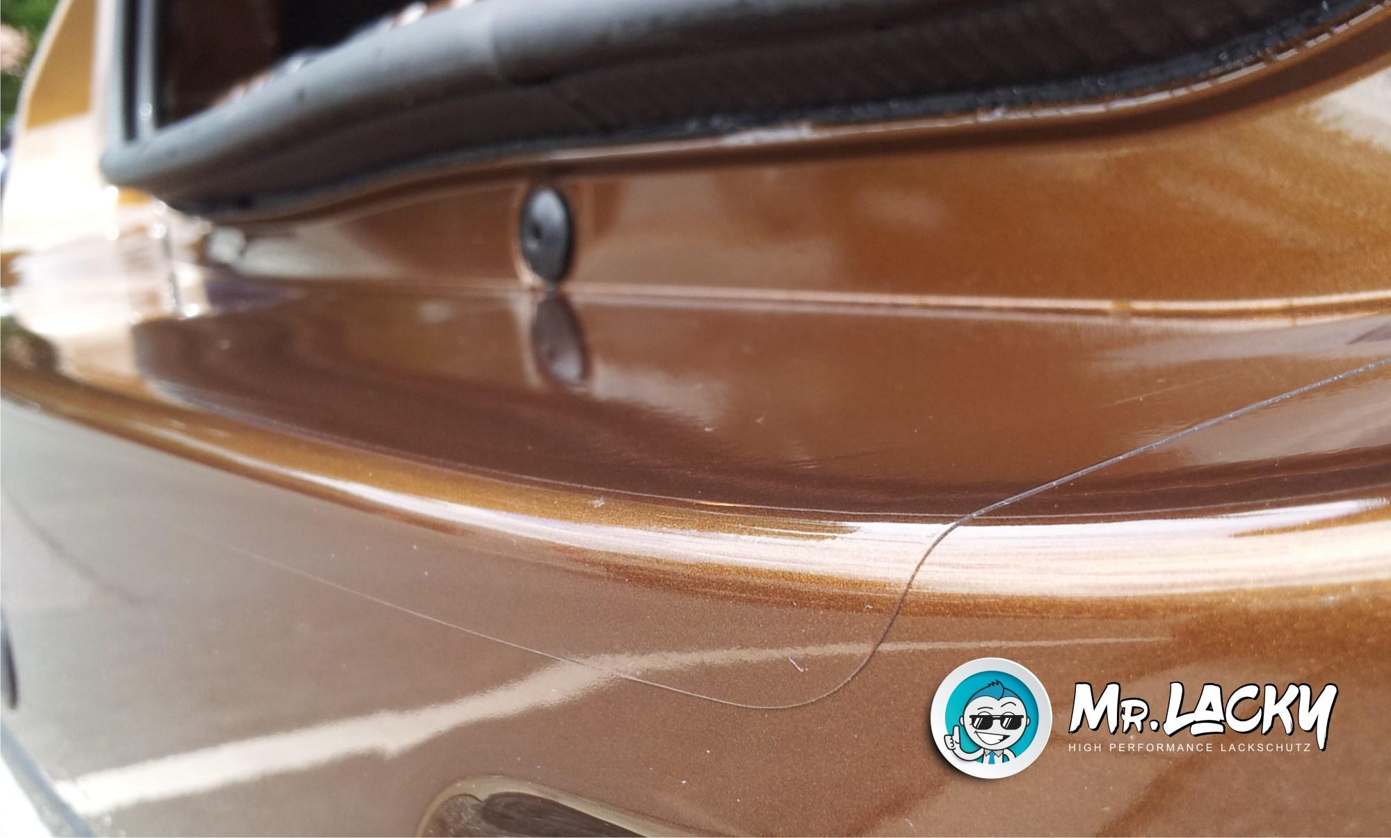 Lackschutzfolie Ladekantenschutz transparent Renault Koleos ab 2017  150 µm
