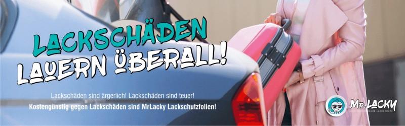 Lackschutzfolie, Ladekantenschutz - professioneller, passgenauer und effektiver Lackschutz kommt von Mister Lacky