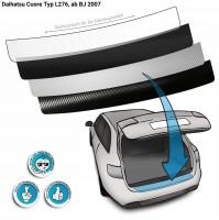 Lackschutzfolie Ladekantenschutz passend für Daihatsu Cuore Typ L276, ab BJ 2007