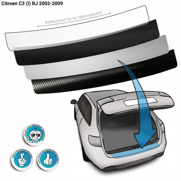 Lackschutzfolie Ladekantenschutz passend für Citroen C3 (I) BJ 2002-2009
