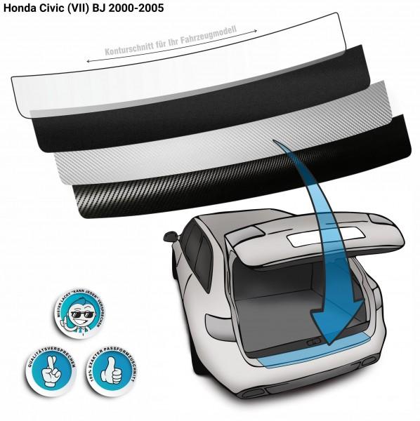 Lackschutzfolie Ladekantenschutz passend für Honda Civic (VII) BJ 2000-2005